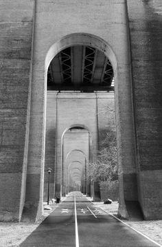 Under the Hellgate Bridge, Randall's Island, NYC