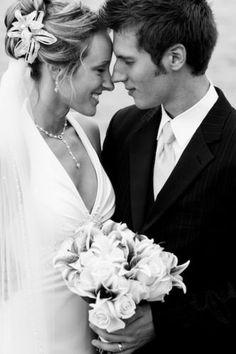 Wedding portrait featured on Intimiate Weddings Blog