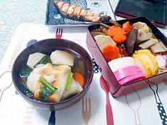 明けましておめでとうございます!!元旦から寝坊しましたが、まずは雑煮からです! - 42件のもぐもぐ - 雑煮~ by wakosun