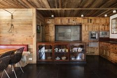 Your Home is Lovely: interiors on a budget: Wooden walls and other uses for old planks
