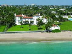 House Of The Day: A Historic Addison Mizner-Designed Palm Beach #Manse Brings The Florals For $22M. -Curbed