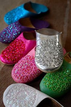 Moroccan shoes!