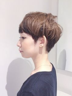 Ticro hair(ticro HANDA style)ツートンカラーショート
