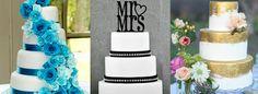 Modelo de bolo de casamento.