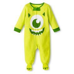 Disney® Newborn Boys'Monsters Inc. Sleep N' Play - Green