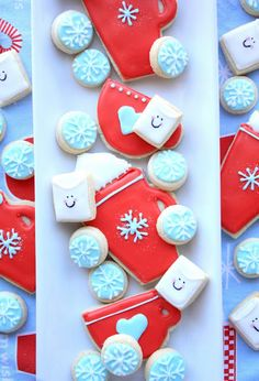Decorated Hot Chocolate Cookies-Decorated Sugar Cookies