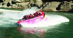 The Shotover River - home to the fastest and most thrilling jet boat ride experience in New Zealand.