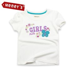$9.43 (Buy here: https://alitems.com/g/1e8d114494ebda23ff8b16525dc3e8/?i=5&ulp=https%3A%2F%2Fwww.aliexpress.com%2Fitem%2F2016-Summer-Casual-Tops-Children-Clothes-Vetement-Enfant-Baby-Girls-Top-Tees-Flower-Butterfly-T-shirts%2F32707252530.html ) 2017 Summer Casual Tops Children Clothes Vetement Enfant Baby Girls Top Tees Flower Butterfly T-shirts Kids T Shirt for Girls for just $9.43