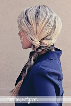 Twist Me Pretty: The Alternative Braid  RM- A good braid for those of us with too many layers in our hair!