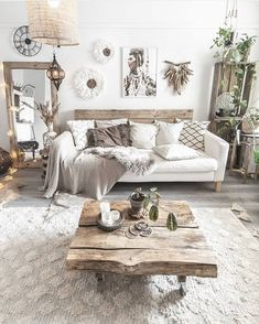 Boho Chic Home Decor Plans and Ideas Boho Living Room Boho CHIC Decor Home Ideas Plans – bohemian Boho Living Room, Home And Living, Living Room Decor, Modern Living, Cozy Living, Bohemian Living, Stylish Living Rooms, Simple Living, Nordic Living Room