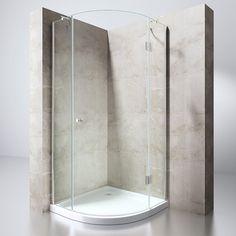 Viertelkreis Duschkabine Eckeinstieg Dusche Duschabtrennung Duschtasse Ravenna6 in Heimwerker, Bad & Küche, Duschen   eBay