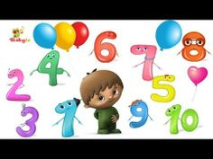Counting to 10 in Hebrew Teaching Spanish, Yoshi, Projects To Try, Birthday, Youtube, Party, Kids, Fictional Characters, Learning