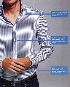 Guy Fashion Stuff: The Perfect Fit