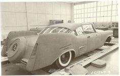 1957 Chrysler 300 clay styling buck