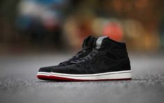Preview: Air Jordan 1 Mid | Black, White & Red