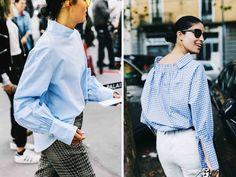 Как носить белую рубашку, версия 2017   ABC OF STYLE