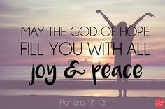 REDE MISSIONÁRIA: JOY AND PEACE