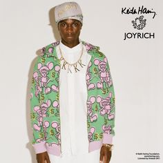 JOYRICH X KEITH HARING Fall/Winter 2013 Collaboration
