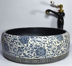 Unique atmosphere for your bathroom. Our Products are a perfect addition to any bathroom a must for creating a focal unique design. Bathroom Sinks For Sale, Vessel Sink Bathroom, Basin Sink, Bathroom Ideas, Vintage Sink, Vintage Ceramic, Moroccan Bathroom, Toilet Sink, Victorian Bathroom