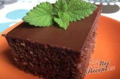 Vynikající hrnkový recept na cuketový perník | NejRecept.cz Cheesecake Cake, Cheesecakes, Tiramisu, Zucchini, Food And Drink, Cooking Recipes, Pudding, Sweets, Baking