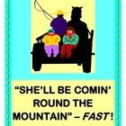 """Add a GROUP GAME to this familiar folk tune-- one that really MOVES FAST!  """"SHE'LL BE COMIN' ROUND THE MOUNTAIN!"""" really rocks in this up-tempo GROUP GAME interpretation.  Your kids will CREATE LANGUAGE for this story.  What to eat?  Where to sleep?  What to play with?  Make an easy HORSE BUDDY CRAFT to take on that trip up the mountain-- template provided.  Good Language Arts learning should be ACTIVE and MULTI-SENSORY!  (6 pages)  From Joyful Noises Express TpT-- your indoor-fun…"""