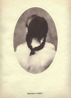 "Shortness of Breath by Dan Estabrook,salt print with ink, 14"" x 11"",2004"
