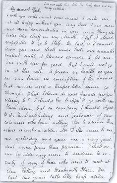 John Keats. Love letter