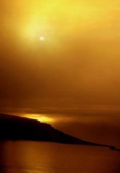 Golden Sunset in Biloxi, #Mississippi #Travel