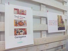 """Exposición """"Garabatos"""" con ilustraciones y textos de Joaquin Sabina, hasta finales de octubre en @canallazaragoza"""