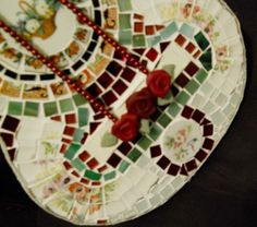 Just listed...Handmade Mosaic Guitar Broken Songs and Melodies