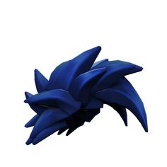Blue Swoosh Hair - ROBLOX