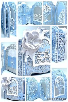 Cardmaking, Scrapbooking, and beautiful Paper Craft projects designed by America Kuhn. Mini Albums, Mini Scrapbook Albums, Becca Feeken Cards, Memory Album, Memory Books, Vignette Design, Diy Crafts For Girls, Vintage Postcards, Vintage Birds