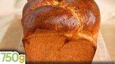Recette de Brioche maison - 750g Brioche Bread, Brie, Desserts, Kitchenaid, Breads, Cakes, Recipes, Pastries, Tarts