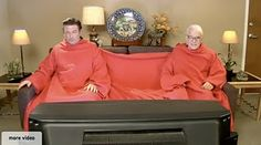 two person snuggie