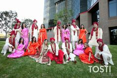 Bridal Party Indian Wedding South Asian