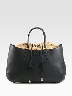 Fendi  Borsa Coilisse Vitello Leather & Suede Bag