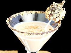 Smores martini - a safer version for adults :)
