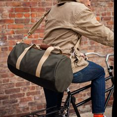 These #Duffels from @owenandfred are perfection!