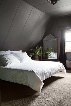 jle_rasenberg20160704_0641 - #jlerasenberg201607040641 #landhausstil Attic Bedroom Designs, Bedroom Loft, Dream Bedroom, Master Bedroom, Diy Room Decor, Bedroom Decor, Home Decor, Bedroom Colors, Luxurious Bedrooms