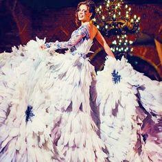 Olga Malyarova Couture  #bridal #wedding #blue #gown #dress #couture #hautecouture #embroidery #couturefashion  #gorgeous #weddingdresses #bride #russia #beautiful #photooftheday #instafashion #hot #instalike #lotd #couture #ootd #slay #floral #style #fashion #look #fashionista #olgamalyarova #love #outfitoftheday @creme.moda