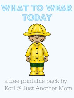 Welcome back to another Freebie Friday here at Just Another Mom! In keeping with my theme of autism related printable packs, this week's pack focuses on making appropriate clothing choices. This pack can be used for any individual (non-verbal, pre-reader, autism, etc.) who made need a little bit of help in this area. This pack, …
