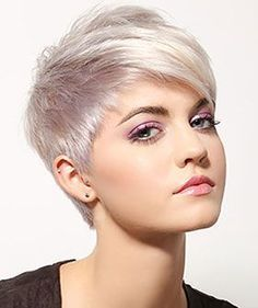 Trend Short for and Best Pixie # Hairstyles Women's Hair Model … - Hair Beauty Pixie Hairstyles, Short Pixie Haircuts, Short Hair Cuts, Cool Hairstyles, Pixie Cuts, Shaved Pixie Cut, Layered Hairstyles, Great Hair, Hair Today
