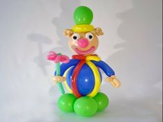 ▶ Clown of balloons. / Slown from balloon. - YouTube