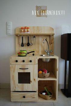 Homemade kitchen for kids