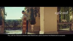 VIDEO Interactive Brokers the musicians - Borrow, Earn, Spend and Invest TV commercial 2017 • Interactive Brokers brings a world of instruments together to act as one, representing the possibilities of indebtedness, gain, expense and investment of your OneWorld account..