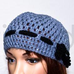 Häkelmütze, crochet cap by Tinadi