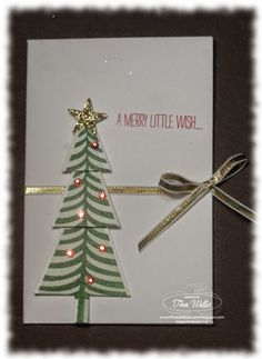 Christmas Envelope Gift Card Holder - video tutorial