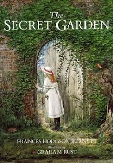 The Secret Garden by Frances Hodgson Burnett. Recently arrived at her uncle's estate, orphan Mary Lennox is spoiled, sickly, and certain she won't enjoy living there. Then she discovers the arched doorway into an overgrown garden, shut up since the death of her aunt. But Misselthwaite Manor hides more than one secret...