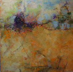 Oil & Cold Wax Painting - WishingForTheHeatToEndBLOG