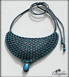 "✿ ""Amphitrite"" macrame necklace with Howlite stones  #macrame #macramenecklace #micromacrame #micromacramejewelry #macramejewelry #evangelilies  #macramelove #macrameart #handmadejewelry #μακραμέ #χειροποίητο #μακραμεκολιε #handmade #knottedjewelry #jewelry #jewellery #makrame #necklace #handmadewithlove #handmadenecklace #madeingreece #madebyme #howlite #howlitejewelry #howlitestone #macrameartist #macramé"